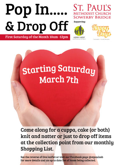 Pop in and Drop Off